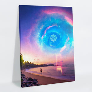 Galaxial Canvas Print