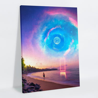 Galaxial Canvas Print - Lumi Prints