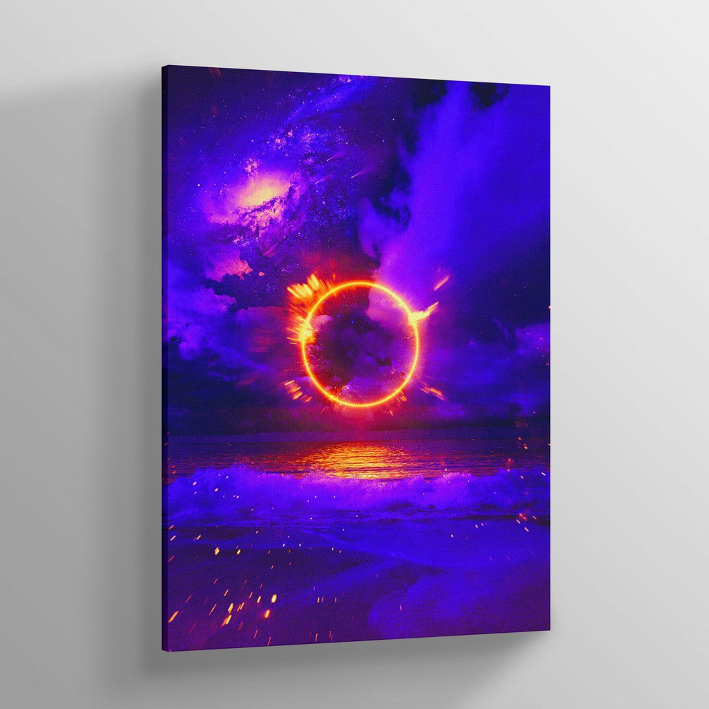 Circular Canvas Print - Lumi Prints