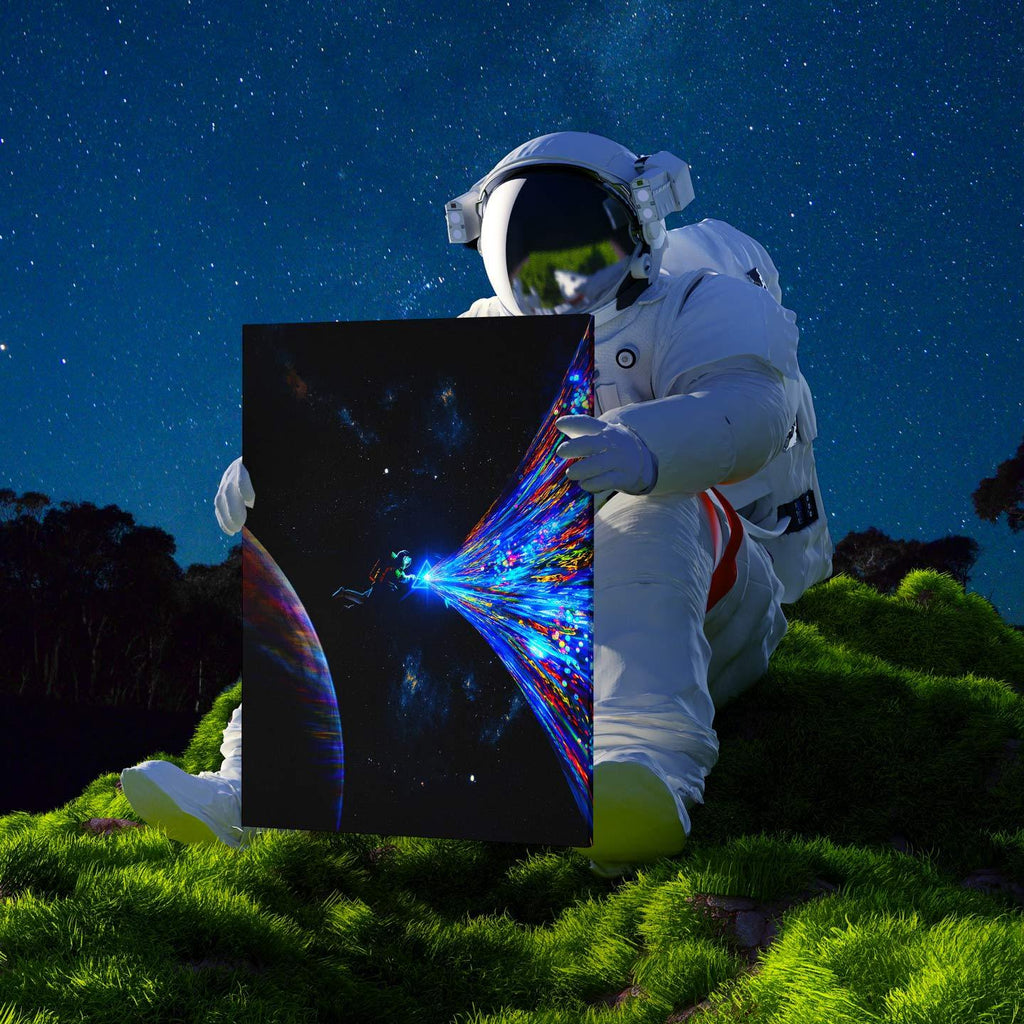 Cosmic Creation Canvas Print - Lumi Prints