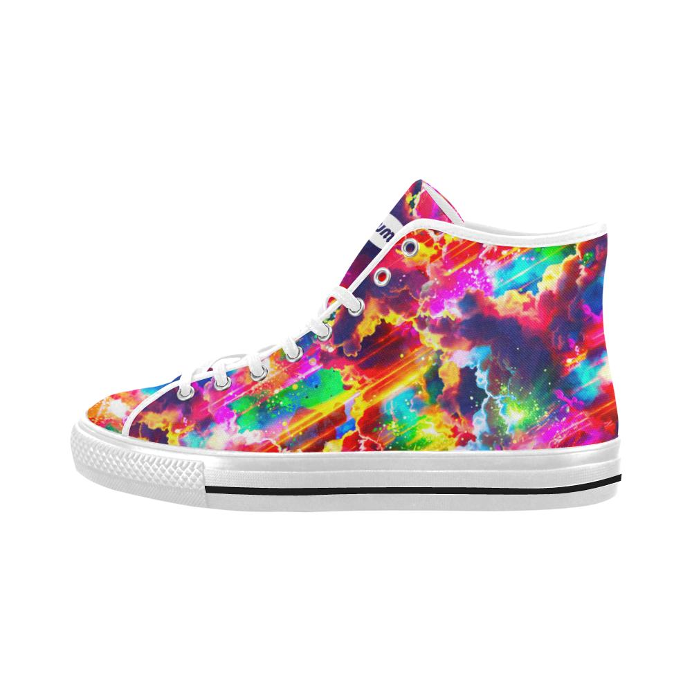 Meteoric High Tops - Lumi Prints