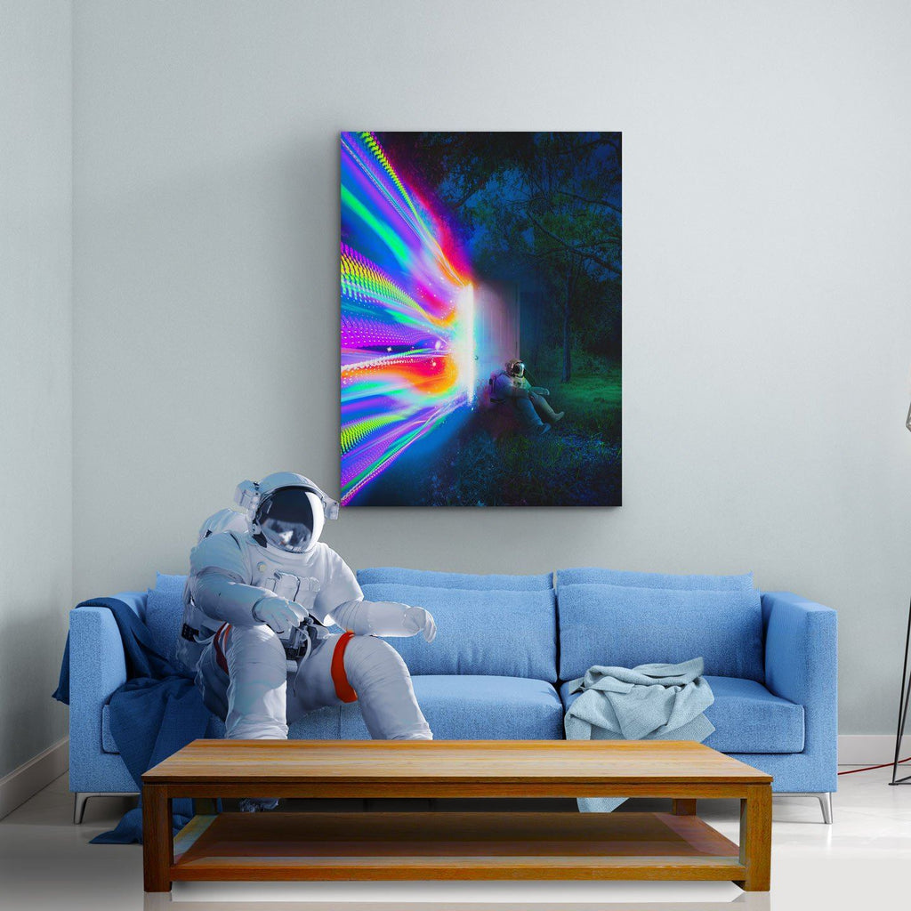 Door Canvas Print - Lumi Prints
