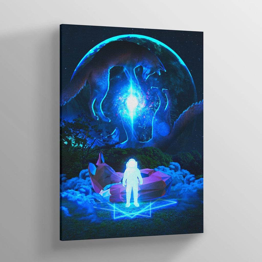 Foxen Canvas Print - Lumi Prints