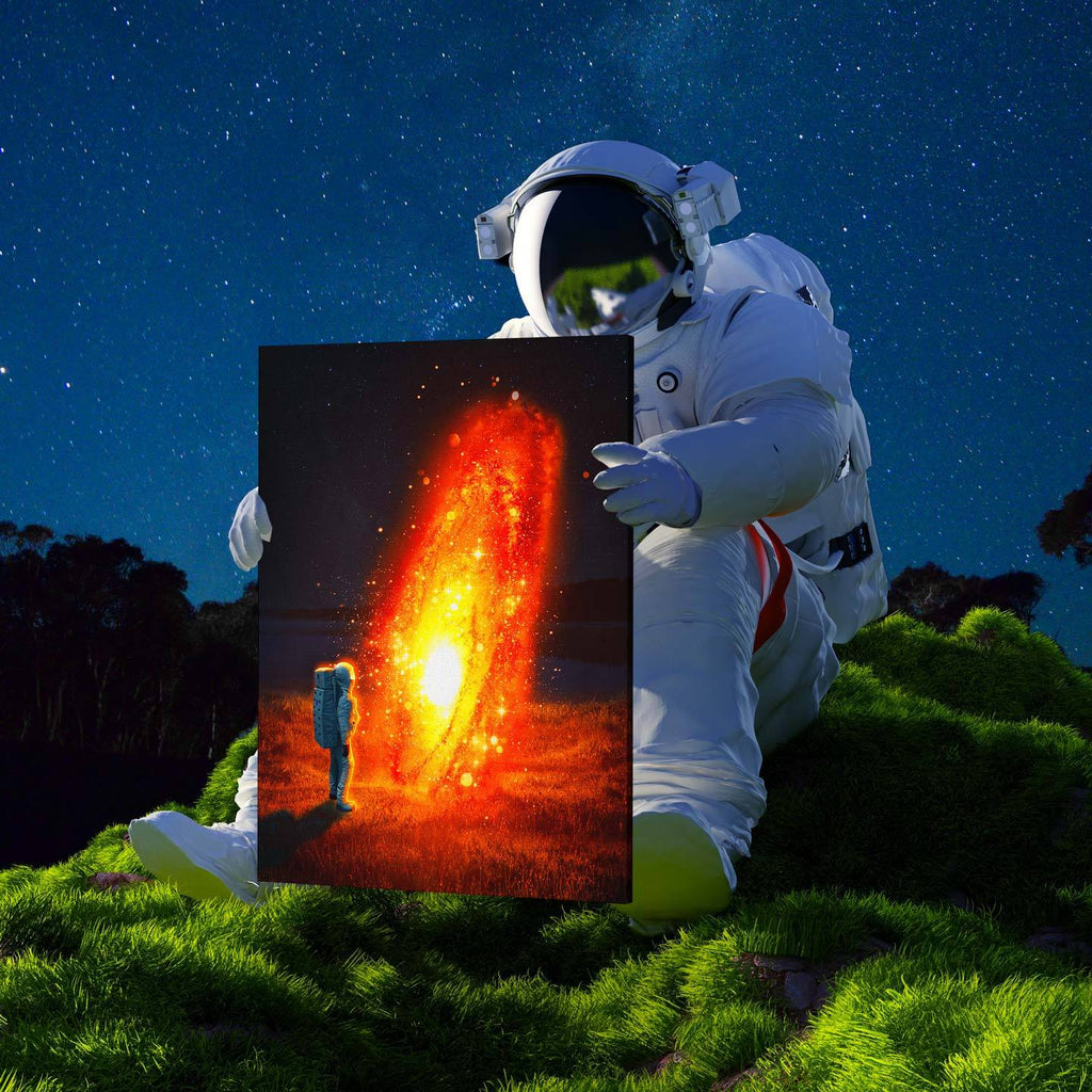 Lava Galaxy Canvas Print - Lumi Prints