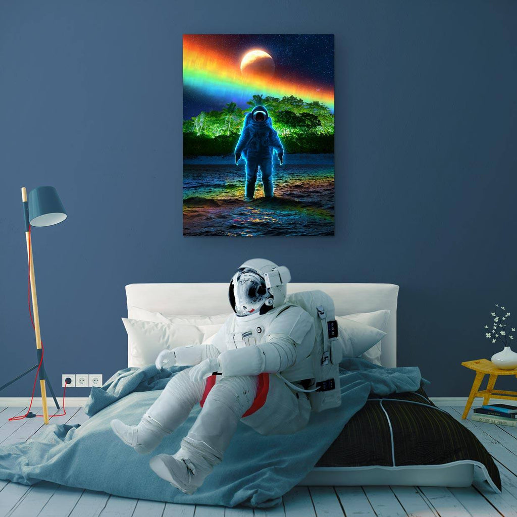 Rainborealis Canvas Print - Lumi Prints