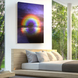 Reflections In Color Canvas Print - Lumi Prints