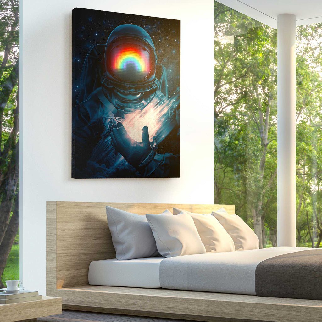 Cosmic Hope II Canvas Print - Lumi Prints