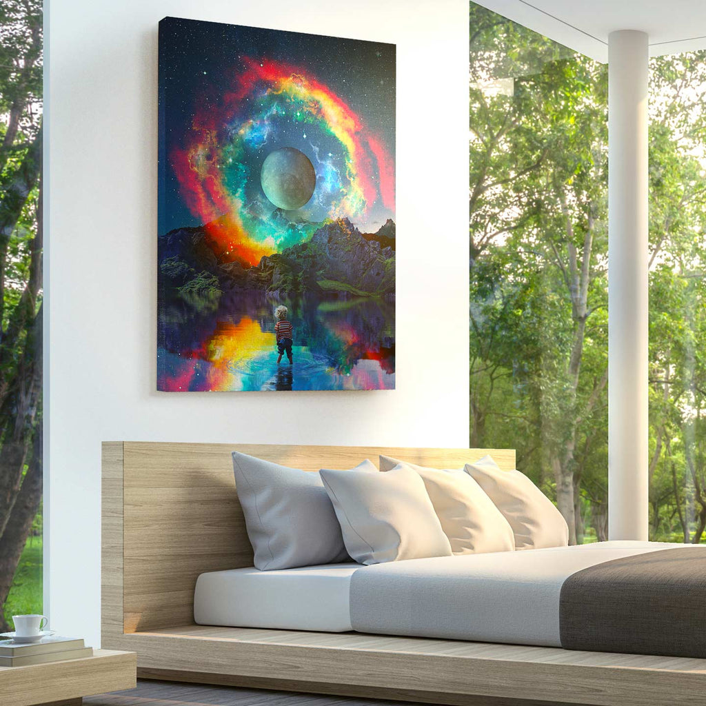 Rainbowen Canvas Print - Lumi Prints