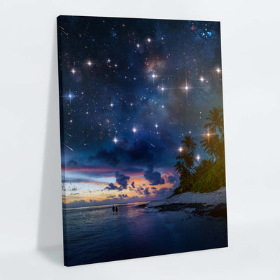 Night of a Lifetime Canvas Print - Lumi Prints