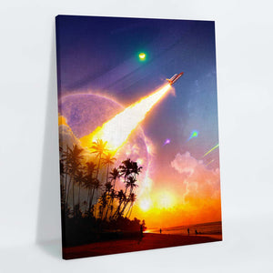 Upward Trajectory Canvas Print