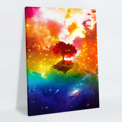 Peace & Joy Canvas Print - Lumi Prints