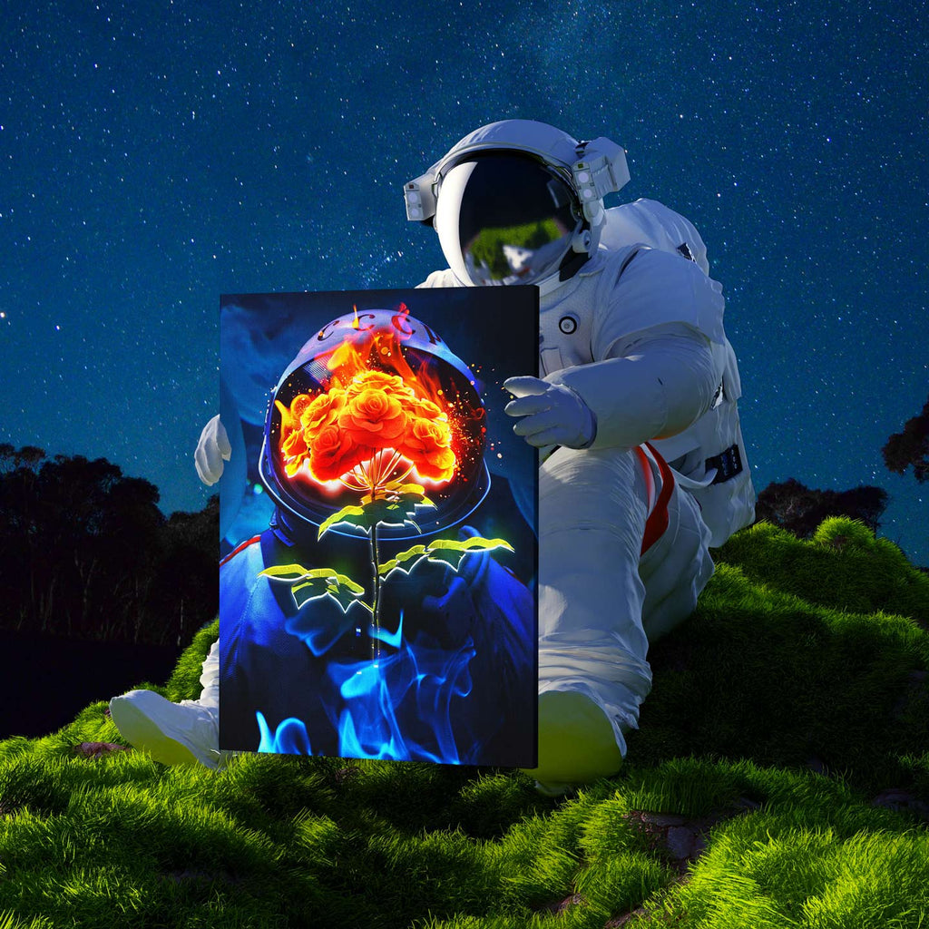 Astro Bouquet Canvas Print - Lumi Prints