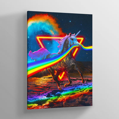Unicorn Canvas Print - Lumi Prints