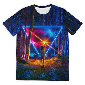 Awe & Wonder All Over Print Tee