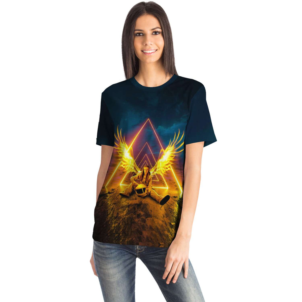 Night Angel Tee - Lumi Prints