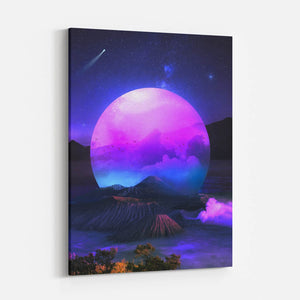 Vaporwoven - Canvas Print