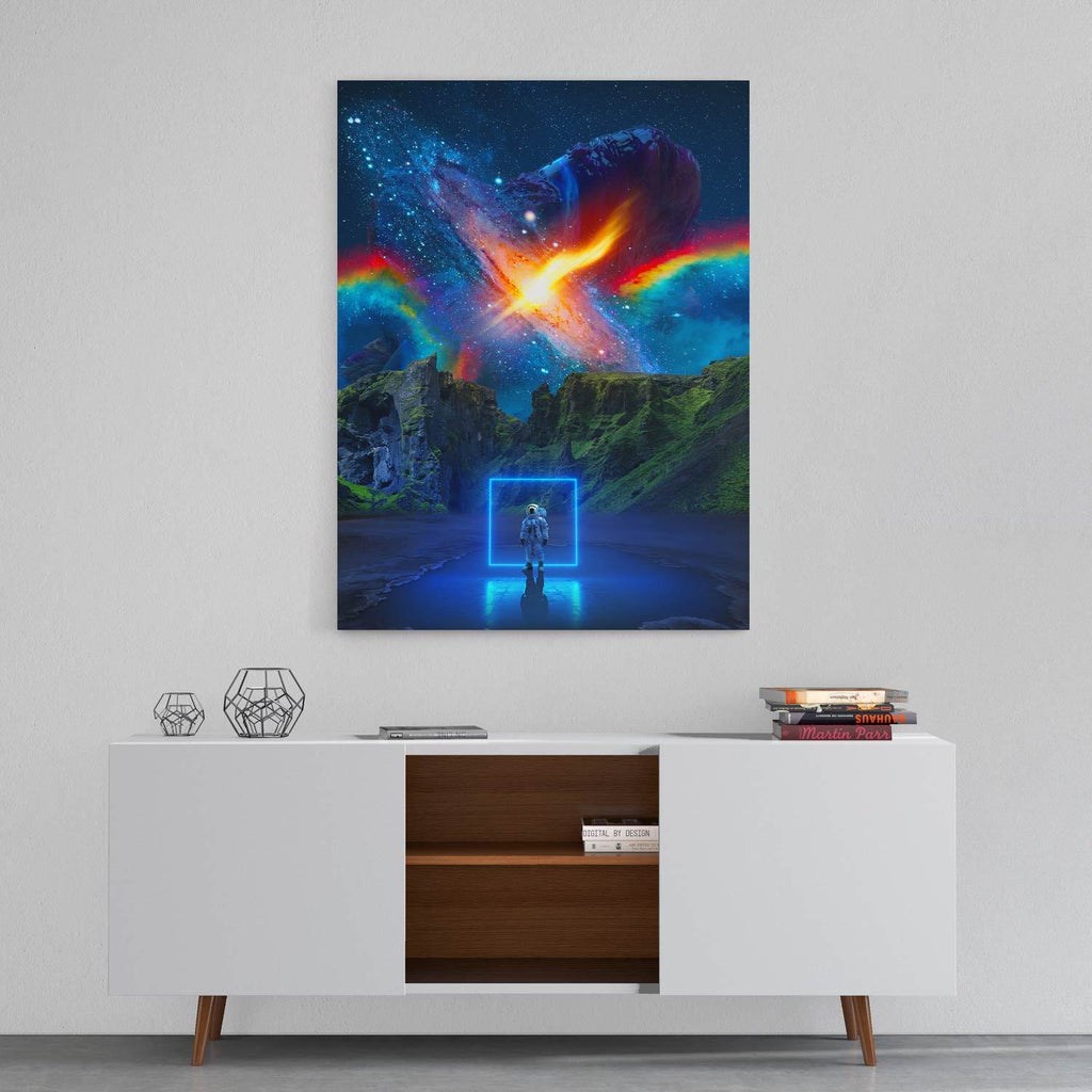 Cosmic Toybox - Canvas Print