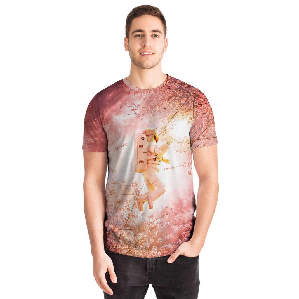 Space Sakura Tee - Lumi Prints