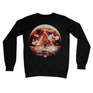 Cosm Black Crew Neck Sweatshirt - Lumi Prints
