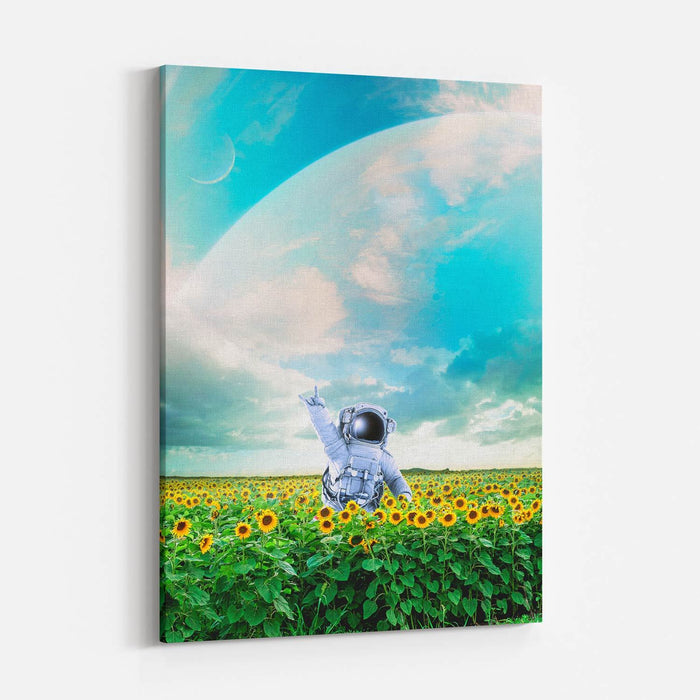 Happy - Canvas Print