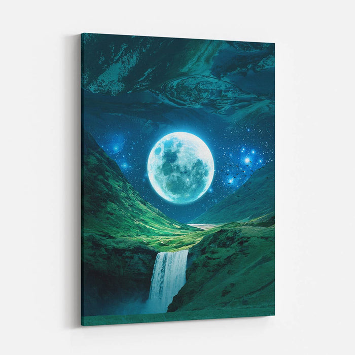 Lunarity Night - Canvas Print