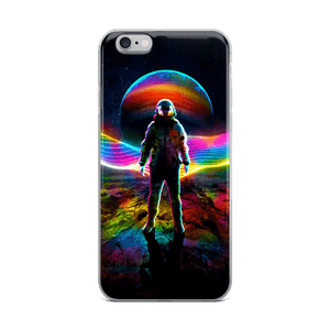 Rainbow Astronaut iPhone Case - Lumi Prints