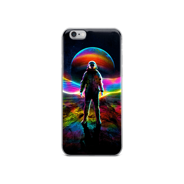 Rainbow Astronaut iPhone Case