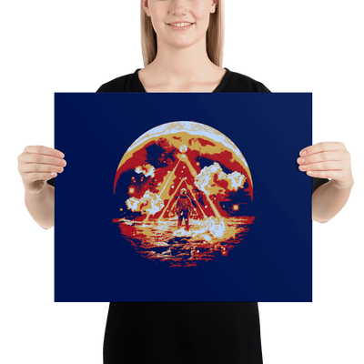 Limited Edition Cosm Poster - Lumi Prints