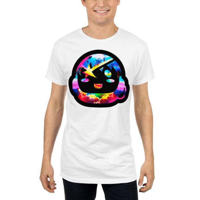 Starboy Long White Tee - Lumi Prints