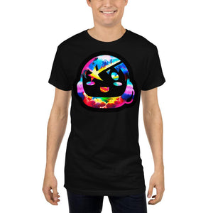 Starboy Long Black Tee - Lumi Prints