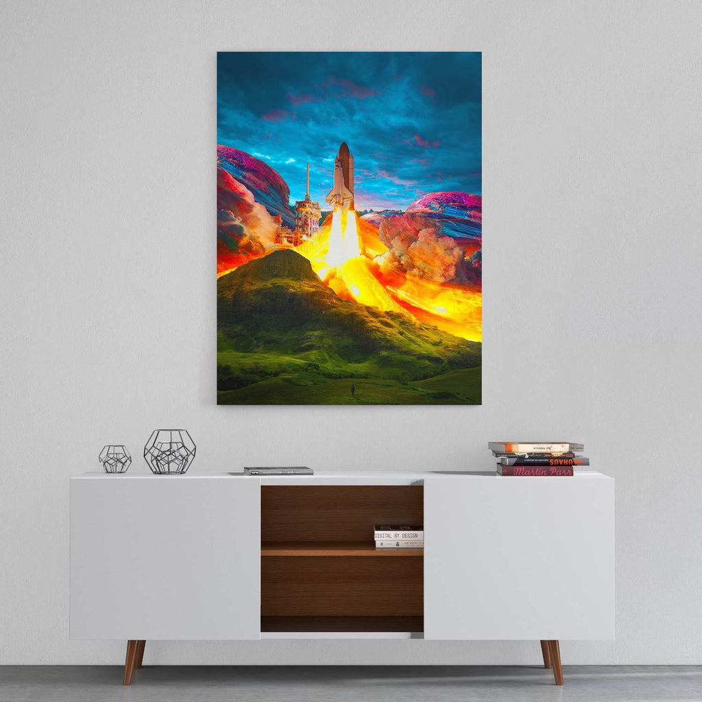 Takeoff - Canvas Print