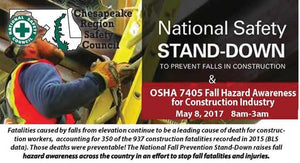 OSHA: the Stand-Down to Stay Up