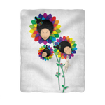 floer Sublimation Baby Blanket