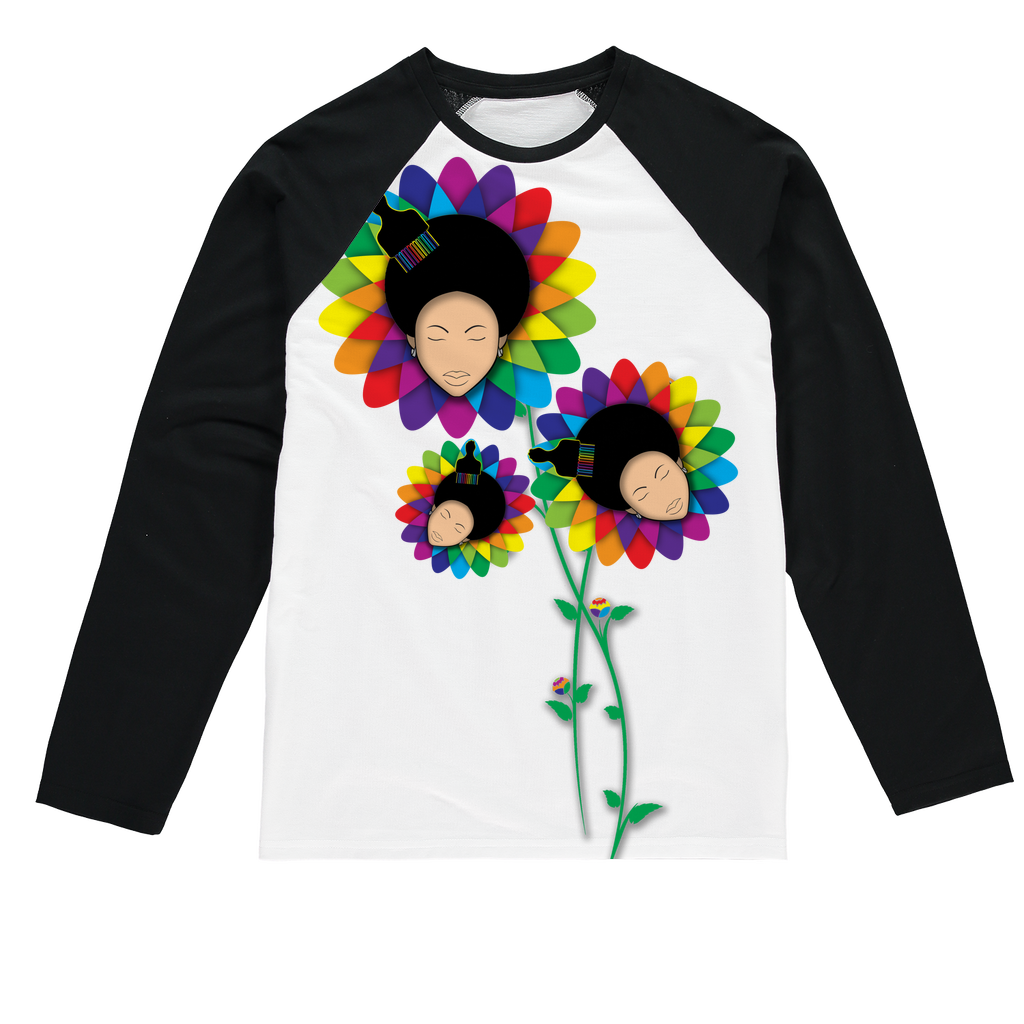 floer Sublimation Baseball Long Sleeve T-Shirt