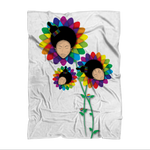 floer Sublimation Throw Blanket