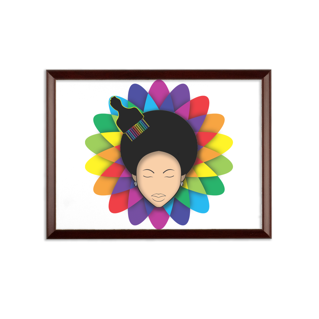 flower Sublimation Wall Plaque