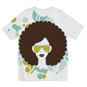 Afro23b Sublimation Kids T-Shirt