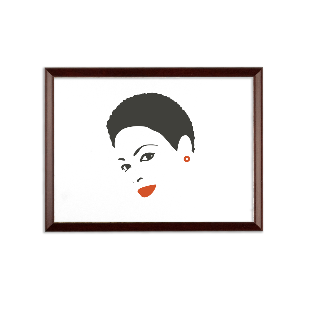 Afro23F Sublimation Wall Plaque