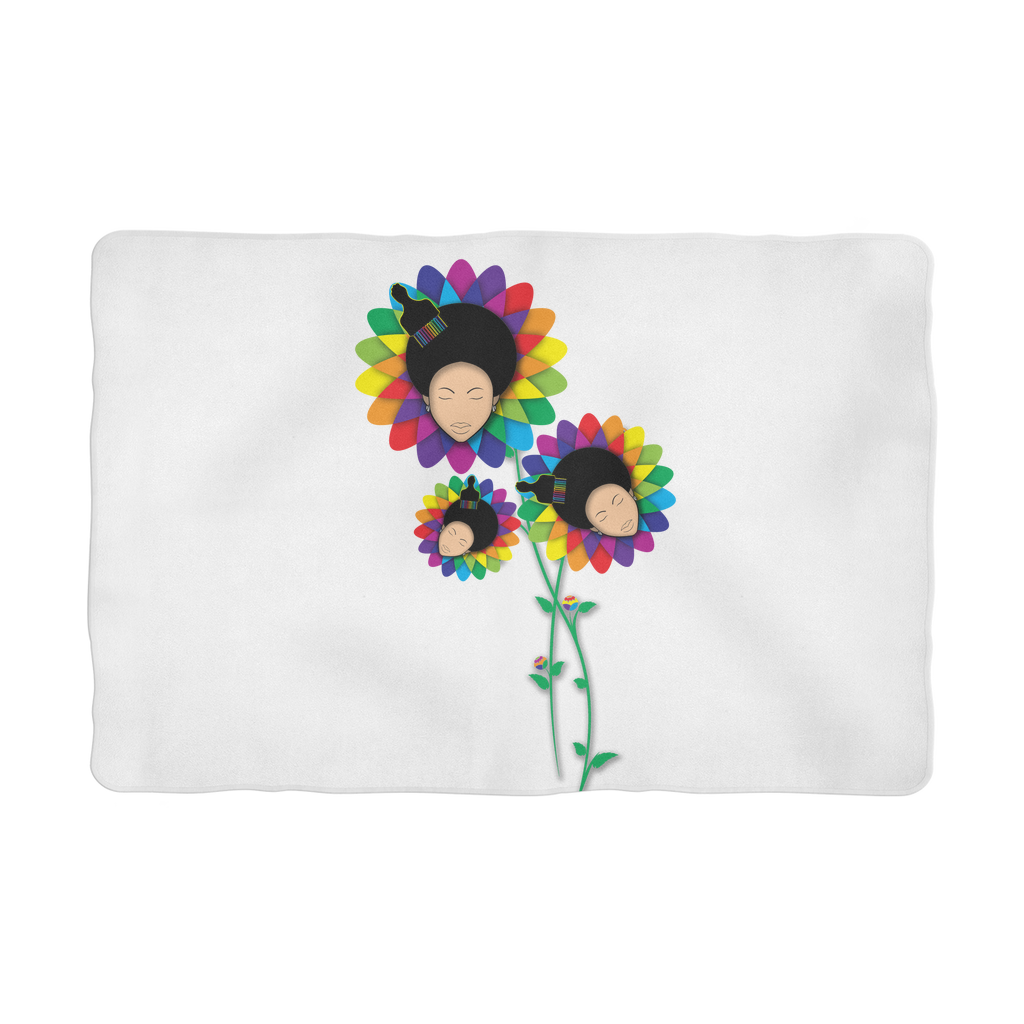 floer Sublimation Pet Blanket
