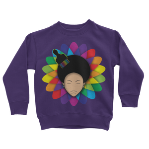 flower Classic Kids Sweatshirt