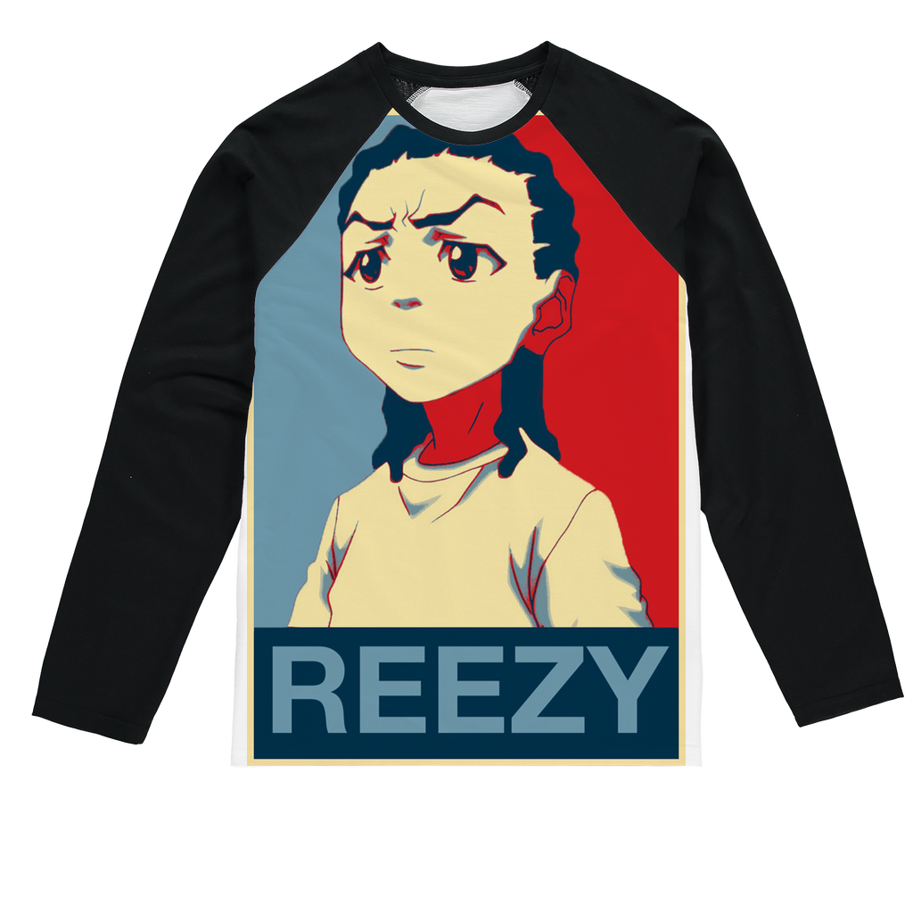 reezy Sublimation Baseball Long Sleeve T-Shirt
