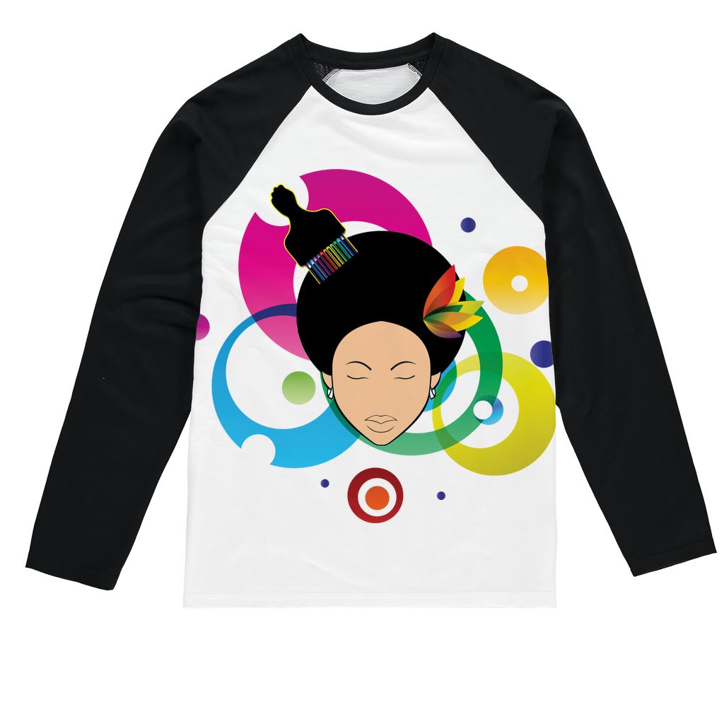 sd5 Sublimation Baseball Long Sleeve T-Shirt