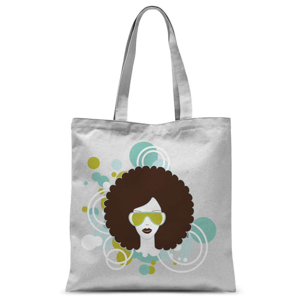 Afro23b Classic Sublimation Tote Bag