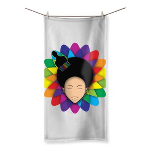 flower Sublimation All Over Towel