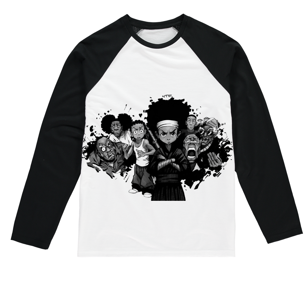 BNKS Sublimation Baseball Long Sleeve T-Shirt