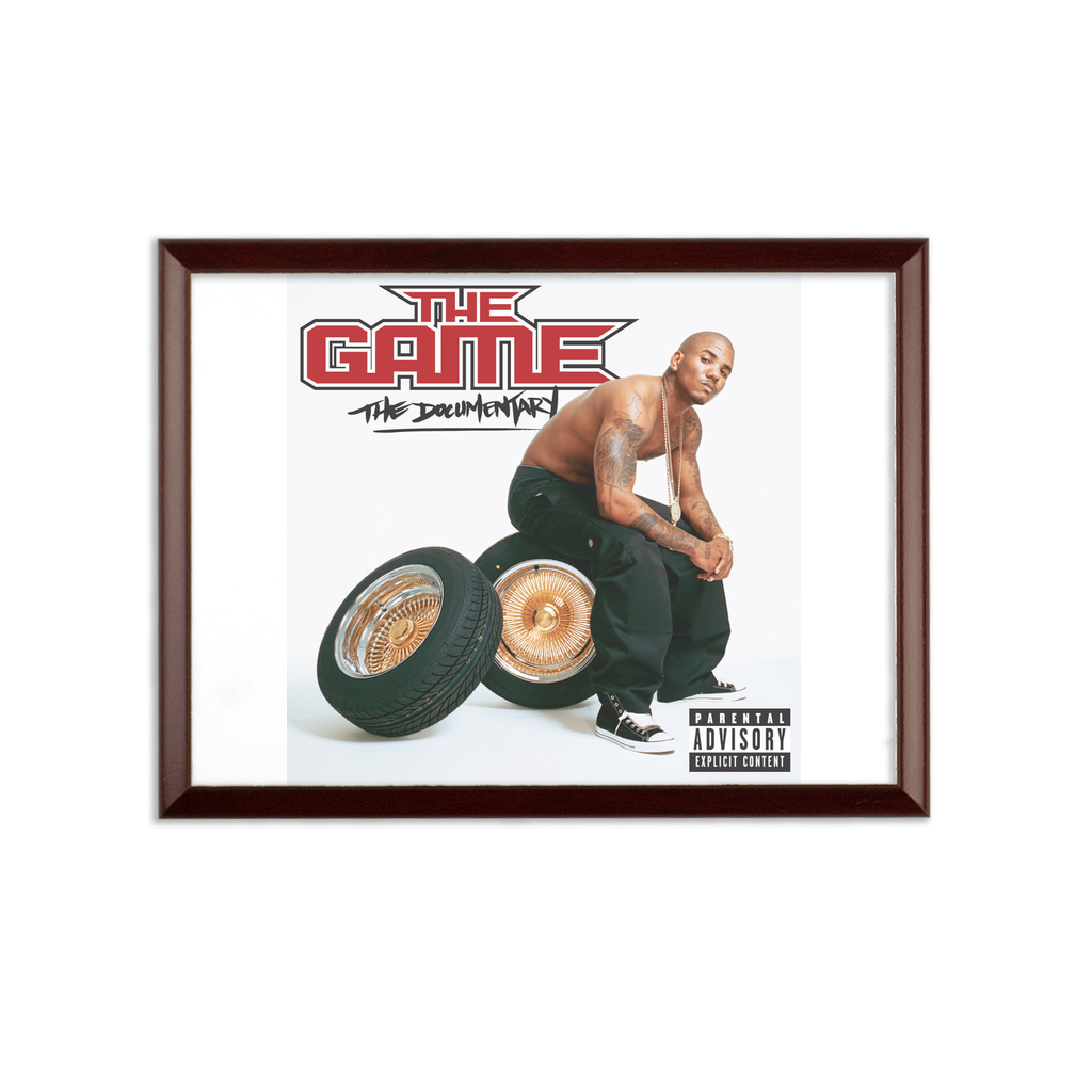 game Sublimation Wall Plaque