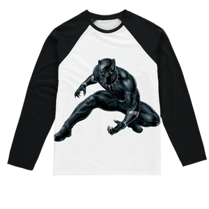 BLKPNTHR Sublimation Baseball Long Sleeve T-Shirt