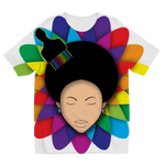 flower Sublimation Kids T-Shirt