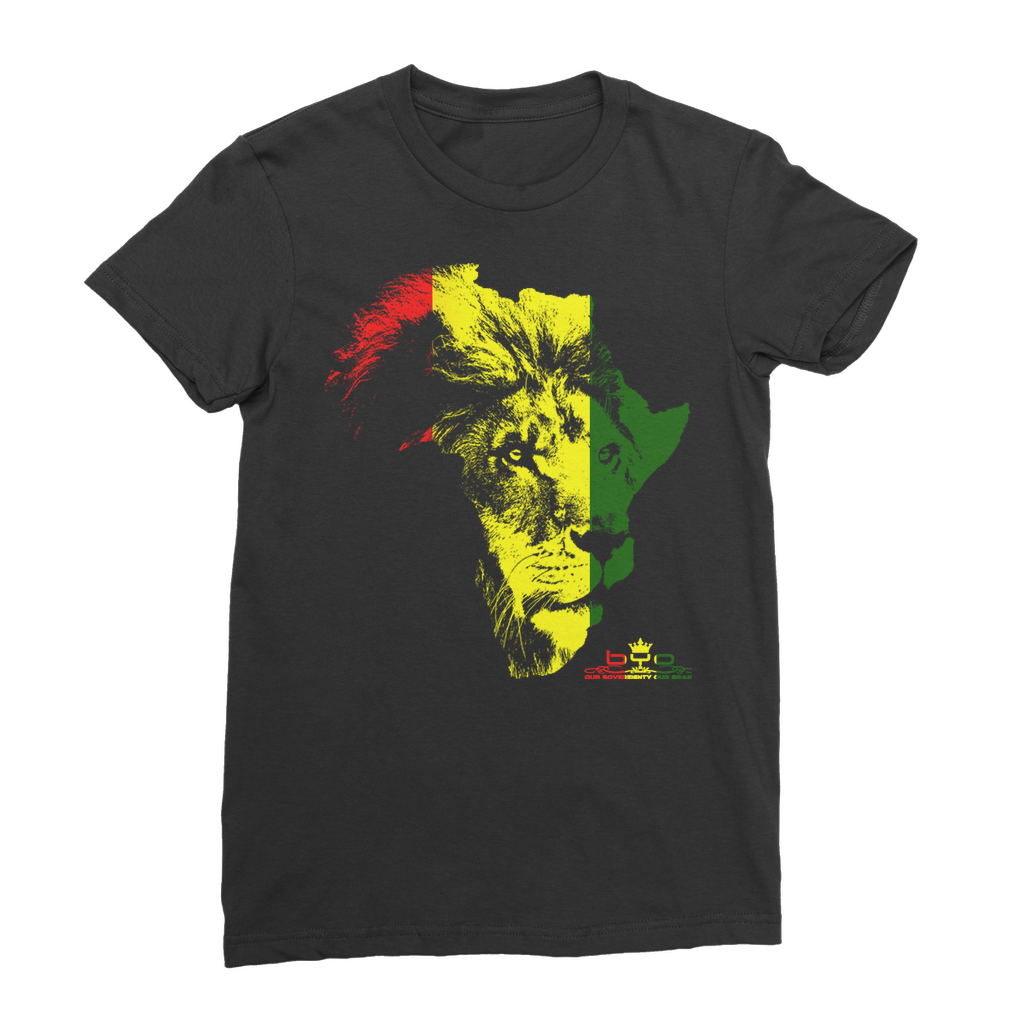 Lion Of Judah Premium Jersey Women's T-Shirt