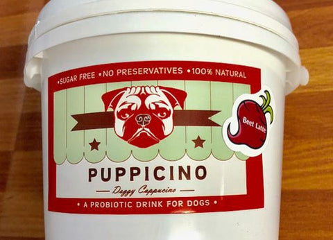 L'Barkery Beet Latte Puppicino Bulk 20 Serves-L'Barkery-Bad Wolf Boutique